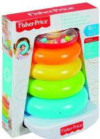 Leker : Ring pyramide Rock-a-Stack - Fisher Price babylegetøj FHC92