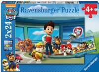 Puslespill : Paw Patrol 2x24p - Ravensburger Paw Patrol puzzle 090853