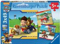Puslespill : Fury Heroes 3x49p - Ravensburger Paw patrol puzzle 093694