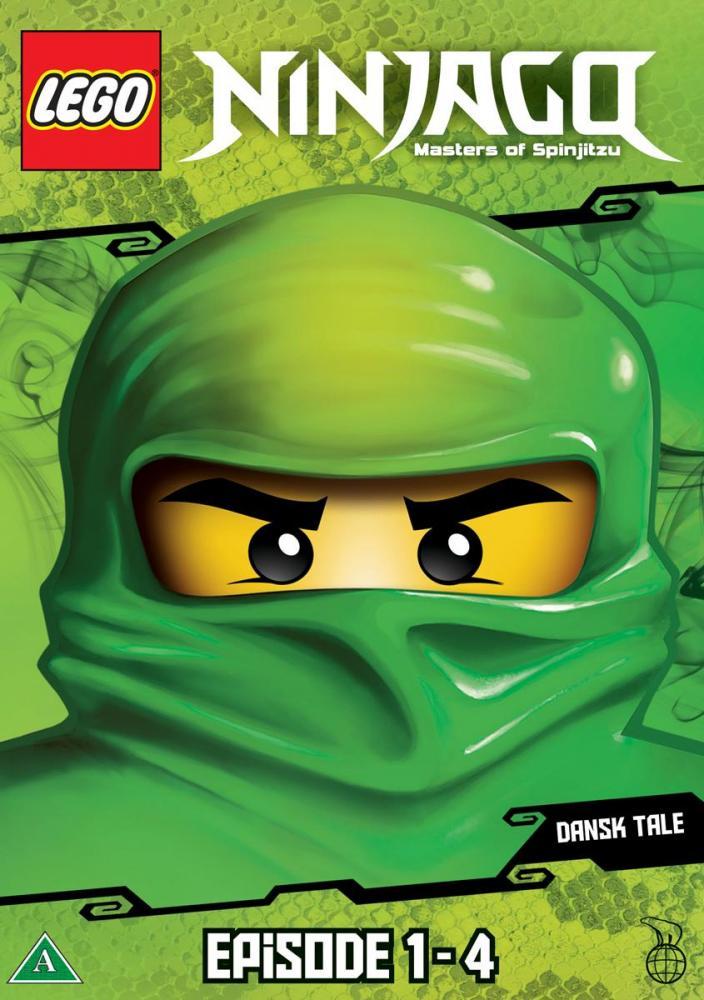 Lego Ninjago DVD Ep. 1 - 4