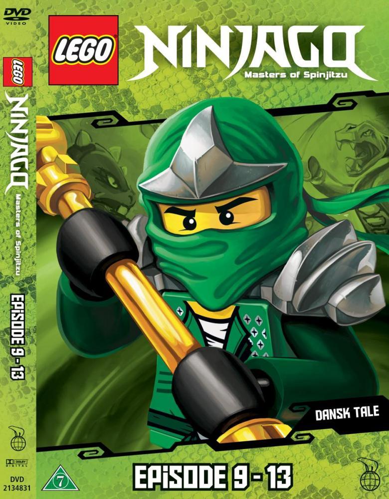 Lego Ninjago DVD Ep. 9 - 13
