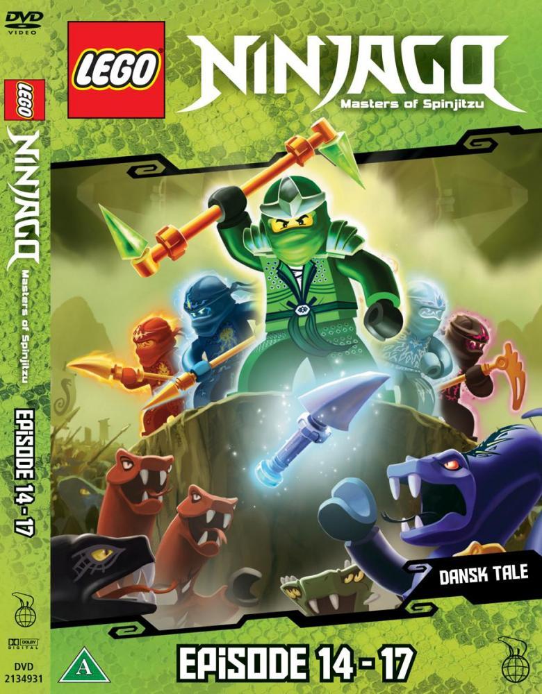Lego Ninjago DVD Ep. 14 - 17