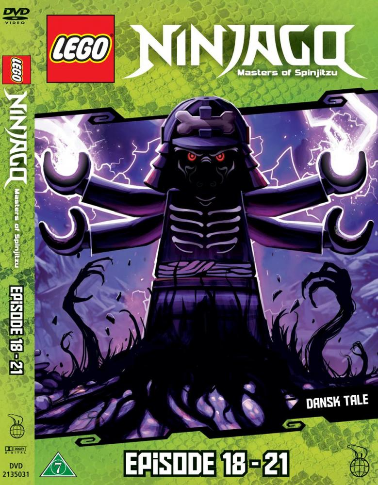 Lego Ninjago DVD Ep. 18 - 21