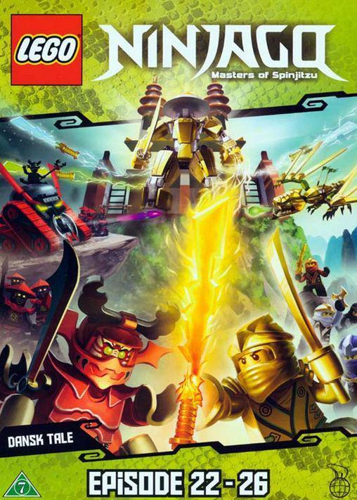 Lego Ninjago DVD Ep. 22 - 26