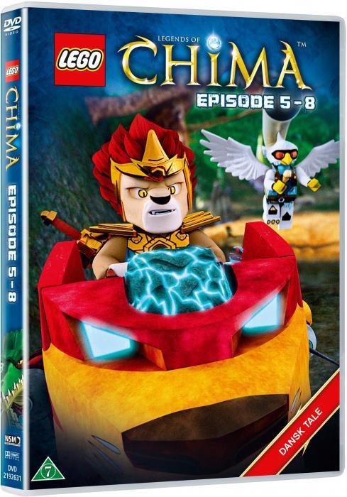 Lego Chima DVD, Ep. 5 - 8