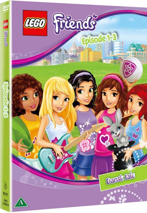 Lego Friends DVD Ep. 1 - 3
