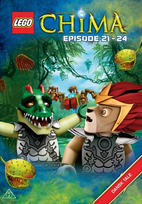 Lego Chima DVD Ep. 21 - 24