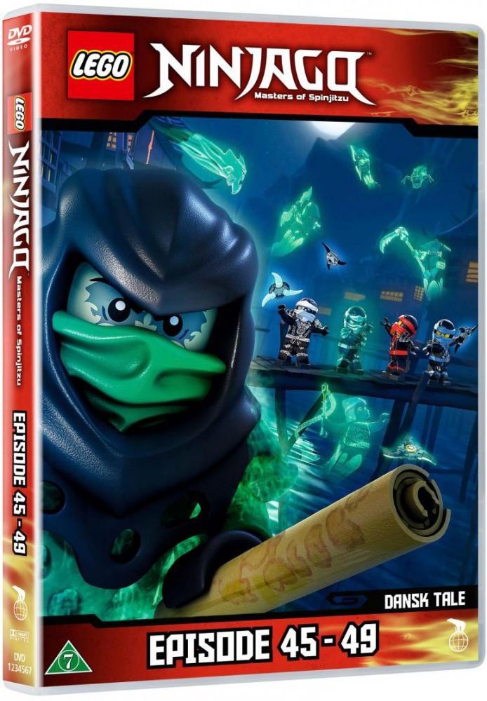 Lego Ninjago DVD 11 (45-49)