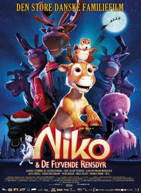 Diverse Niko og De Flyvende Rensdyr - DVD