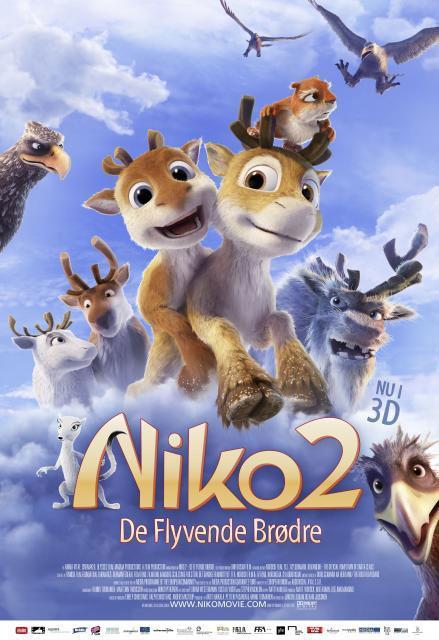 Diverse Niko 2 De flyvende brødre -DVD