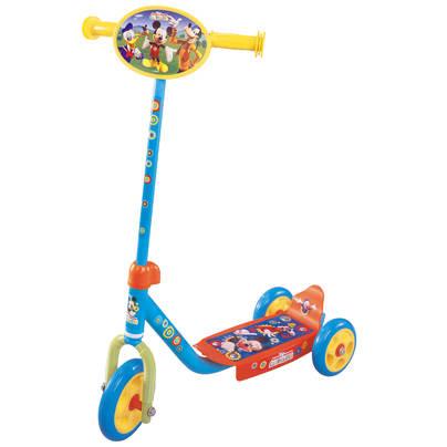 Mickey Mouse Mikke Mus Sparkesykkel med 3 hjul