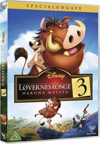 Disney Film Løvenes Konge 3 - DVD
