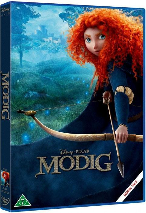 Disney Film Brave (Modig) - DVD