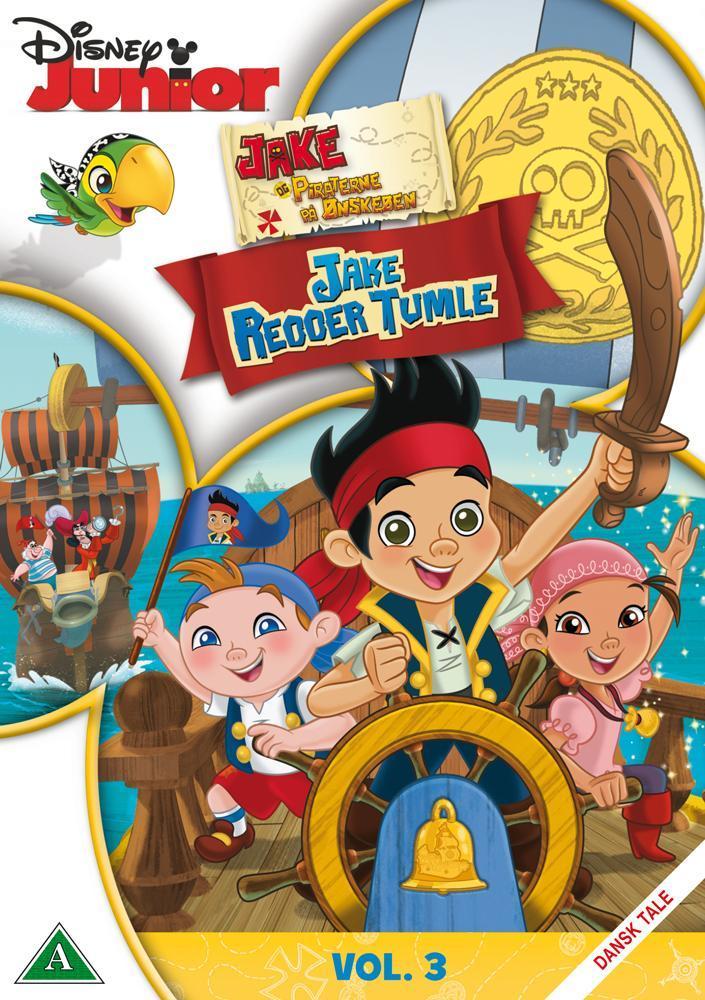 Disney Film Jake & Piratene Jake Redder Tumle - DVD