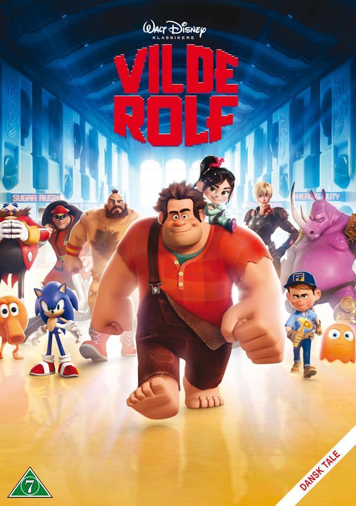 Disney Film Rive-Rolf (Wreck It Ralph) - DVD