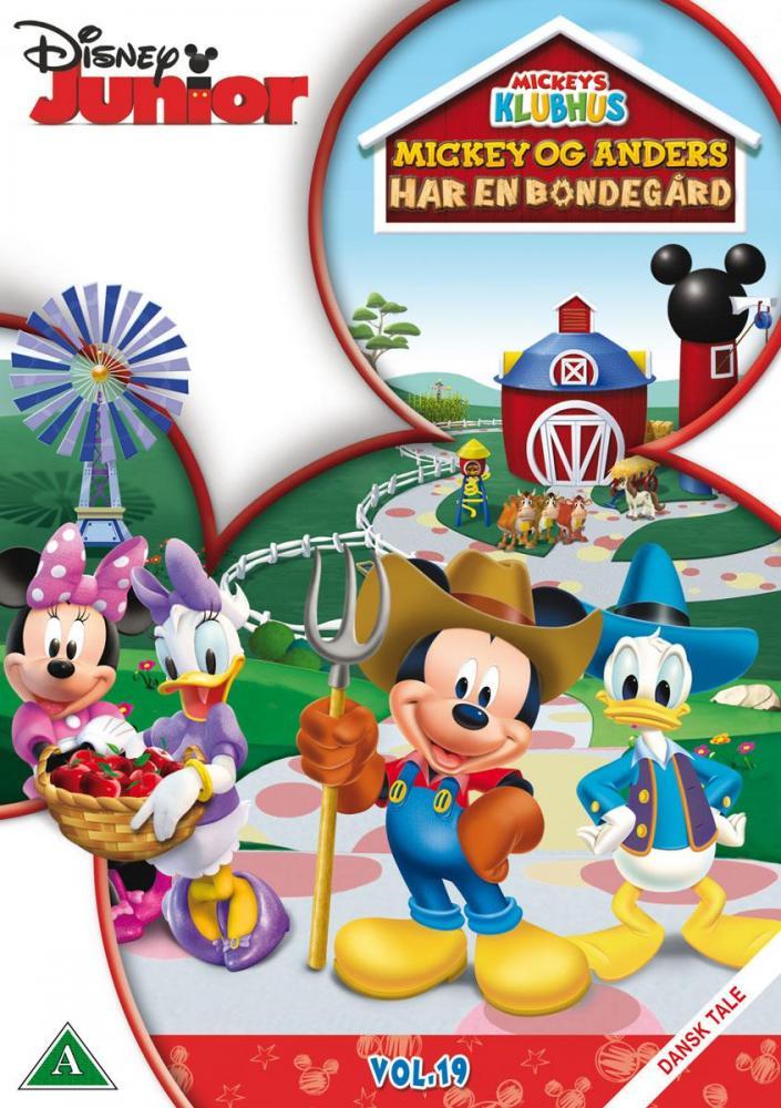 Disney Film Mikke og Donald har en bondegård - DVD