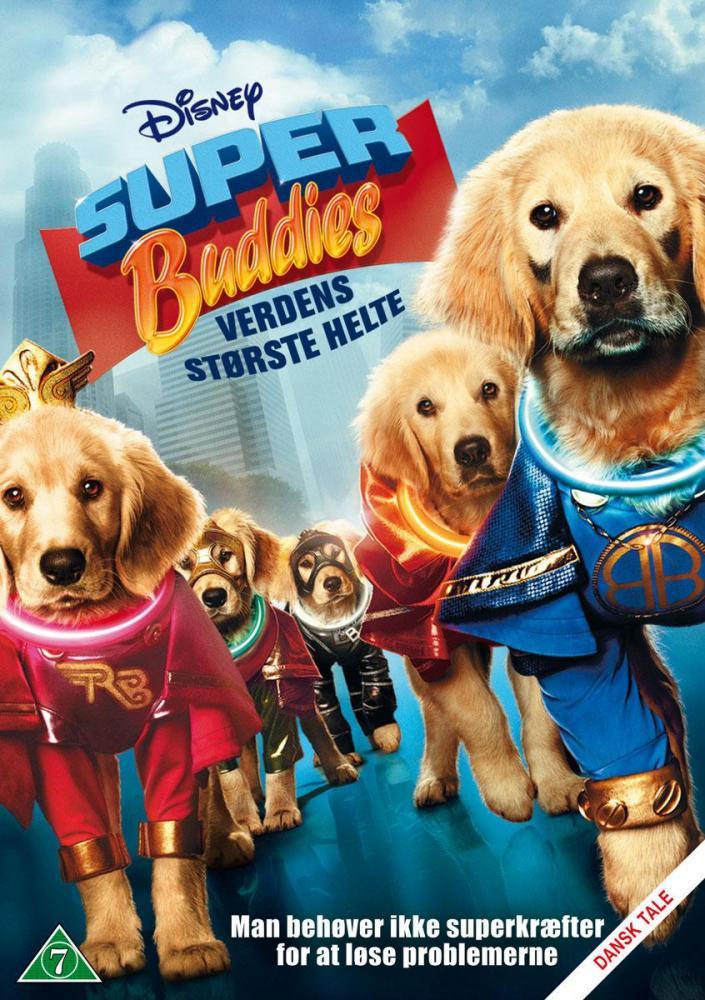 Disney Film Super Buddies Verdens Største Helter- DVD