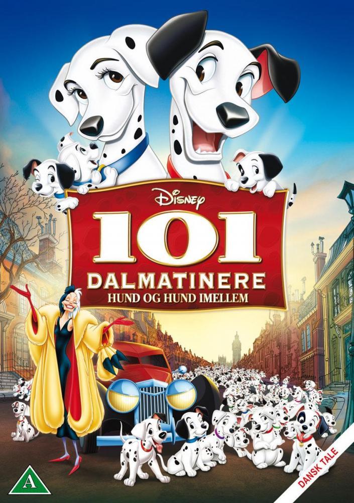 Disney Film 101 Dalmatians - DVD