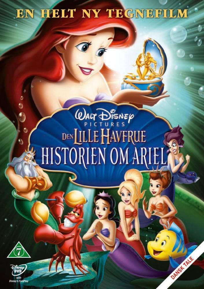 Disney Film Den Lille Havfrue 3 - DVD