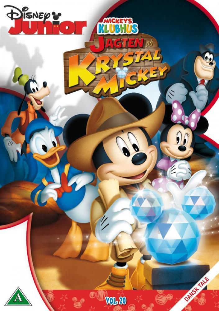 Disney Film Mikkes Klubbhus, Jakten på Krystall Mikke- DVD