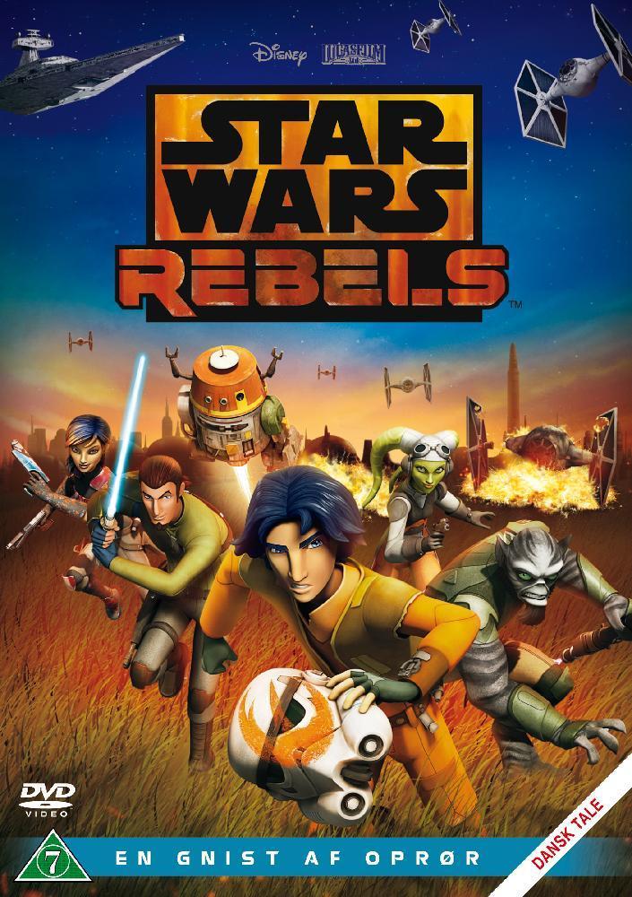 Disney Film Star Wars Rebels En gnist av opprør - DVD