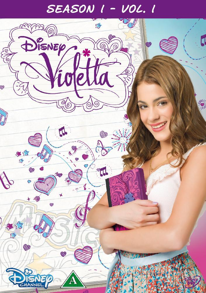 Disney Film Violetta Sesong 1 Vol. 1 - DVD
