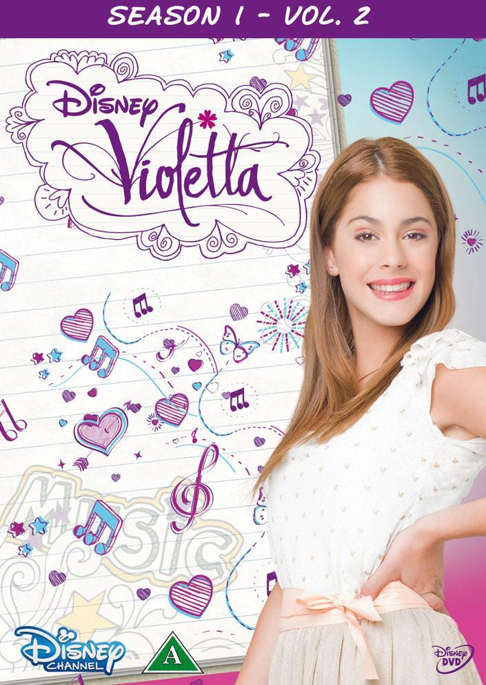 Disney Film Violetta Sesong 1 Vol. 2 - DVD