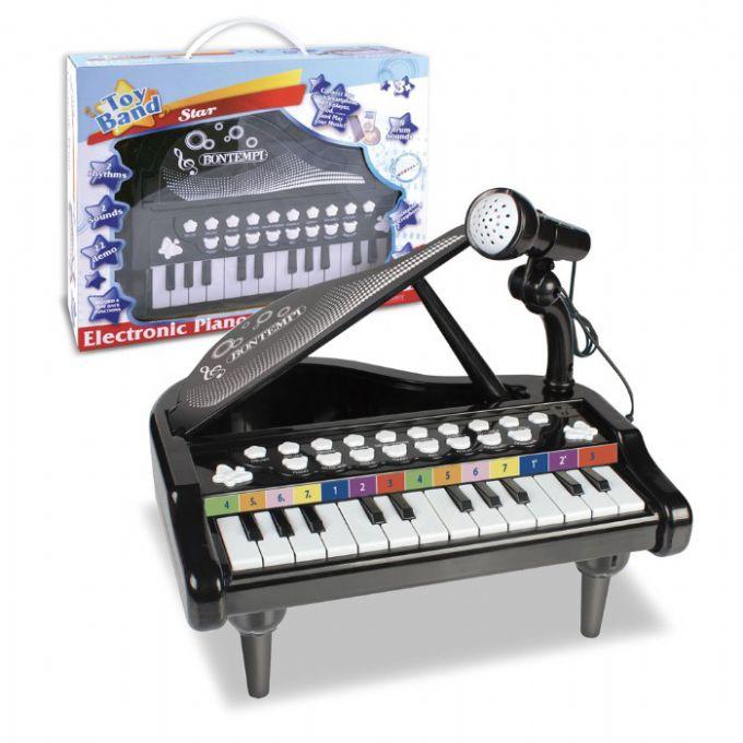 Elektronisk piano med mikrofon Bontempi musikkinstrumenter