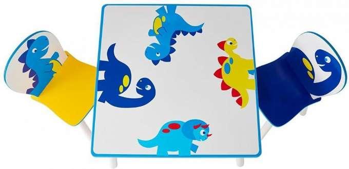 Dinosaur Bord og Stoler Dinosaur barnemøbler 665299 Shop