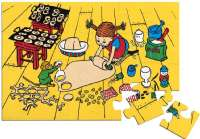 Puslespill : Pippi Floor Puzzle, 24 Pcs - Pippi Puslespil 443785